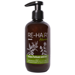 Shampoo Capelli Re-Hair – Fronte