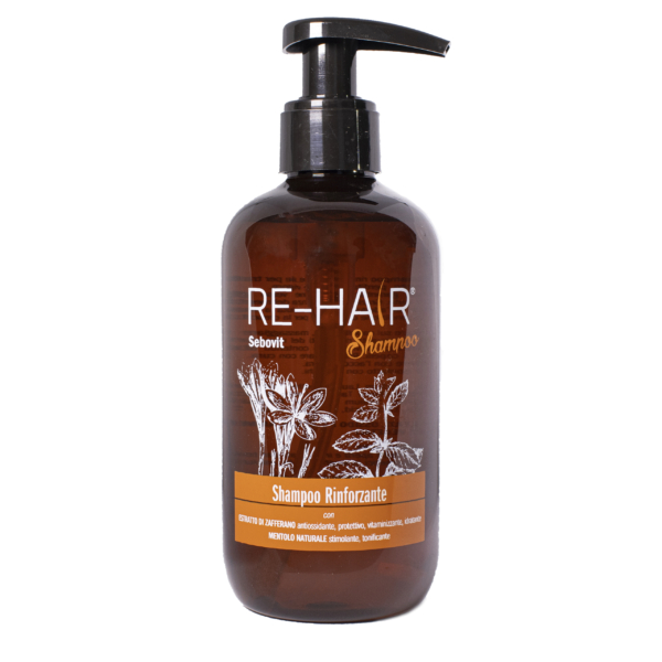 Shampoo Rinforzante Capelli Re-Hair – Fronte